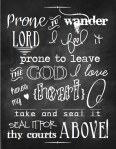 Come Thou Fount Chalkboard Printable 2.003.003